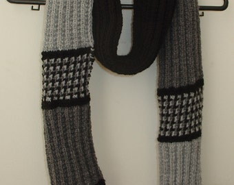 Quick n Easy to knit Warm Winter Unisex Scarf