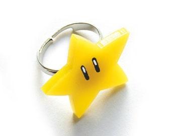 Mario Star Ring