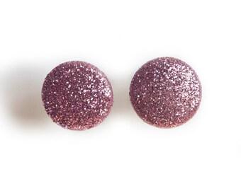 SALE Glitter Dot Earrings