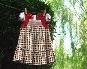 SALE : Classy Smocked Dress, Size 1-6 Years