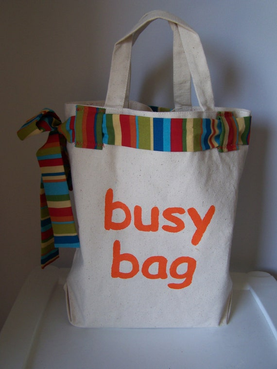 Busy Bag with 5 activities