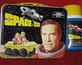 ON SALE Space: 1999 Vintage Lunch box and Thermos, 1975 ATV Licensing Limited
