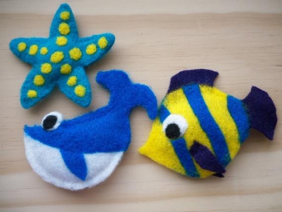 Ocean Creatures Cat Toys