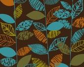 Texture Leaf Stems Dark, limited edition giclee print