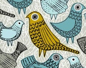 Bright Birds, limited edition giclee print - EloiseRenouf