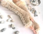 CARAMEL LONG Fingerless Gloves