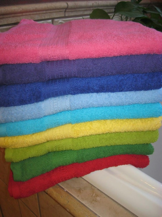Custom order for Lauren Personalized Bath Towel, You Pick The Color