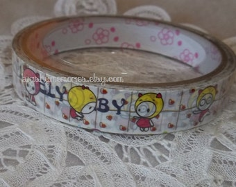 Deco Tape Kawaii Lovely Babe 15m