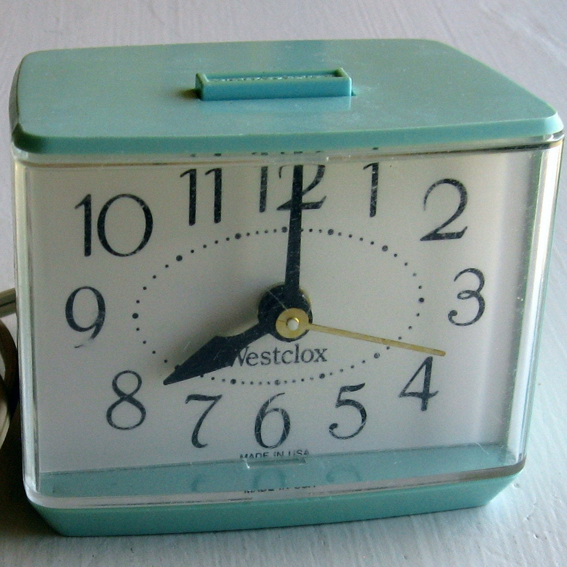 Vintage Alarm Clock Electric Made In Usa