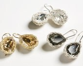 Swarovski Center Stone earrings