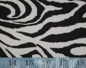 Black/White Tiger/Zebra Nylon Span Bathing Suit Fabric