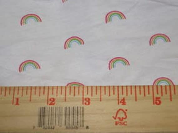 Baby Rainbows Jersey Knit Fabric
