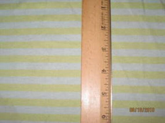 "Pale Blue & Pistachio Green 1/4"" Stripe Knit fabric"