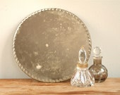 Vintage French Bevelled Mirror - Rustic Shabby Chic