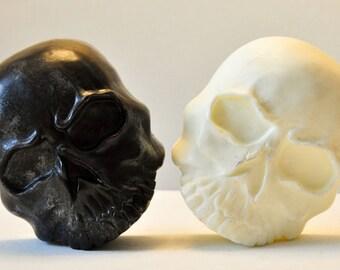 Skull Soap, gothic soap, Vegan soap, Spooky, black soap, Pumpkin Spice