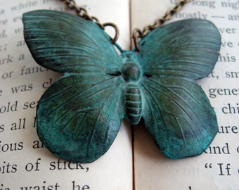 Butterflies from Times Past Necklace
