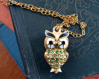 Mr. Owl Necklace