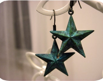 The Patina Star Earrings