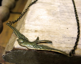 The Long Swallow Necklace