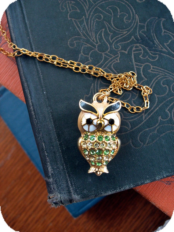 Mr. Owl Necklace