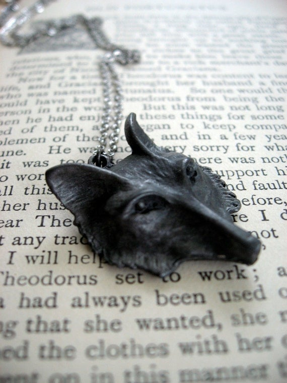 Sly Mr. Fox Necklace