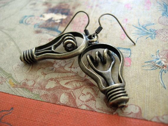 Lightbulb Earrings