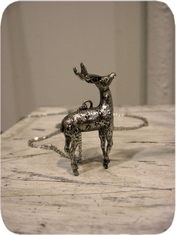 The Silent Deer Necklace