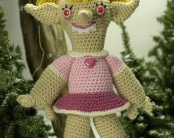 EVIL ELF No. 4: Karen Pink (Ready to ship)