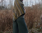 ON SALE - Organic Clothing - Organic Merino Wool Size Large Wide Leg Pants in Olive