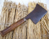 Cast Iron Cleaver Kitchen Chopper Vintage French