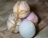 French Lavender, Large Bath Bomb with Moisturizing Jojoba Oil and Mango Butter
