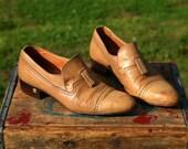 Vintage Pierre Cardin Men's Shoes, Size 9-1/2 Loafers