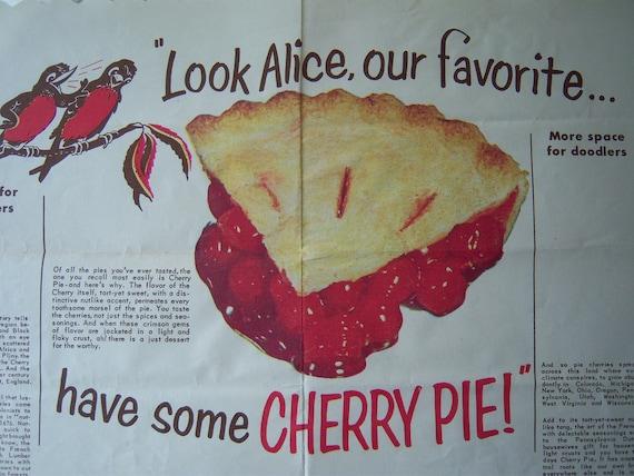 Cherry Pie Vintage Diner Placement