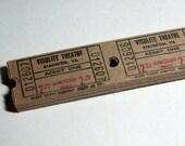 25 Vintage Theatre Tickets - Brown