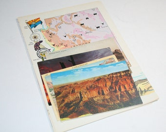 Arizona - United States Vintage Travel Collage Kit