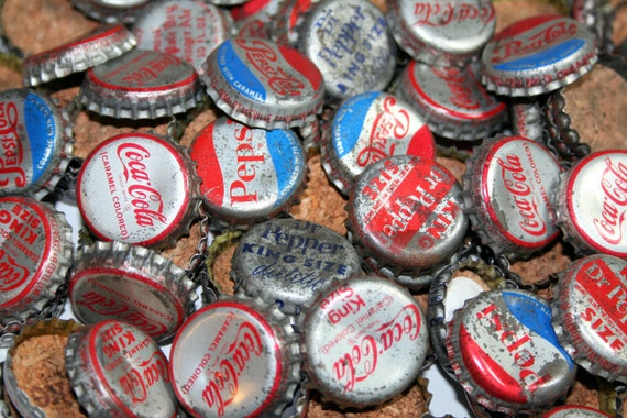 RESERVED for Iggy - 105 Vintage Bottle Caps