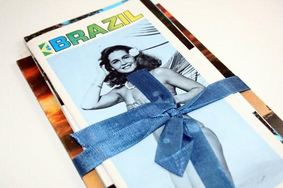 SALE 10 Vintage International Travel Pamphlets