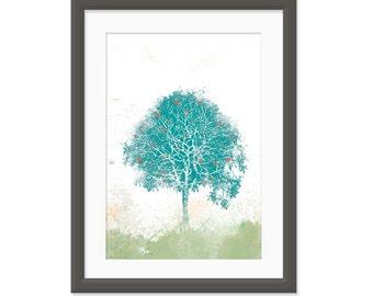 The Tree of hearts - 8x10 Print