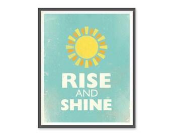 Rise and Shine 8x10 Print
