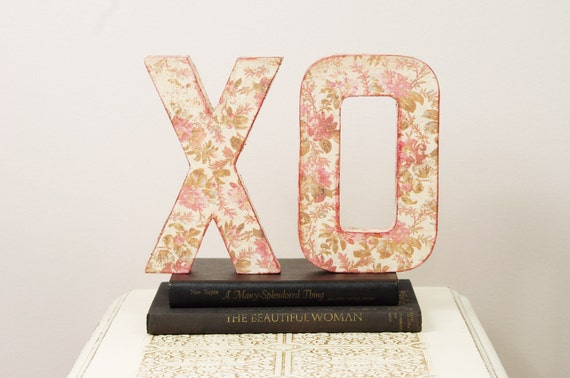 XO Letters - Wedding Decoration, Table Centerpiece, Photography Prop
