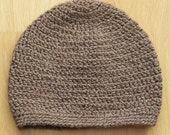Slouchy Beanie in Earth