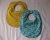 Reversible Little Penguin Baby Bib