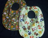 Reversible Bib-Forest Friends and Mushrooms