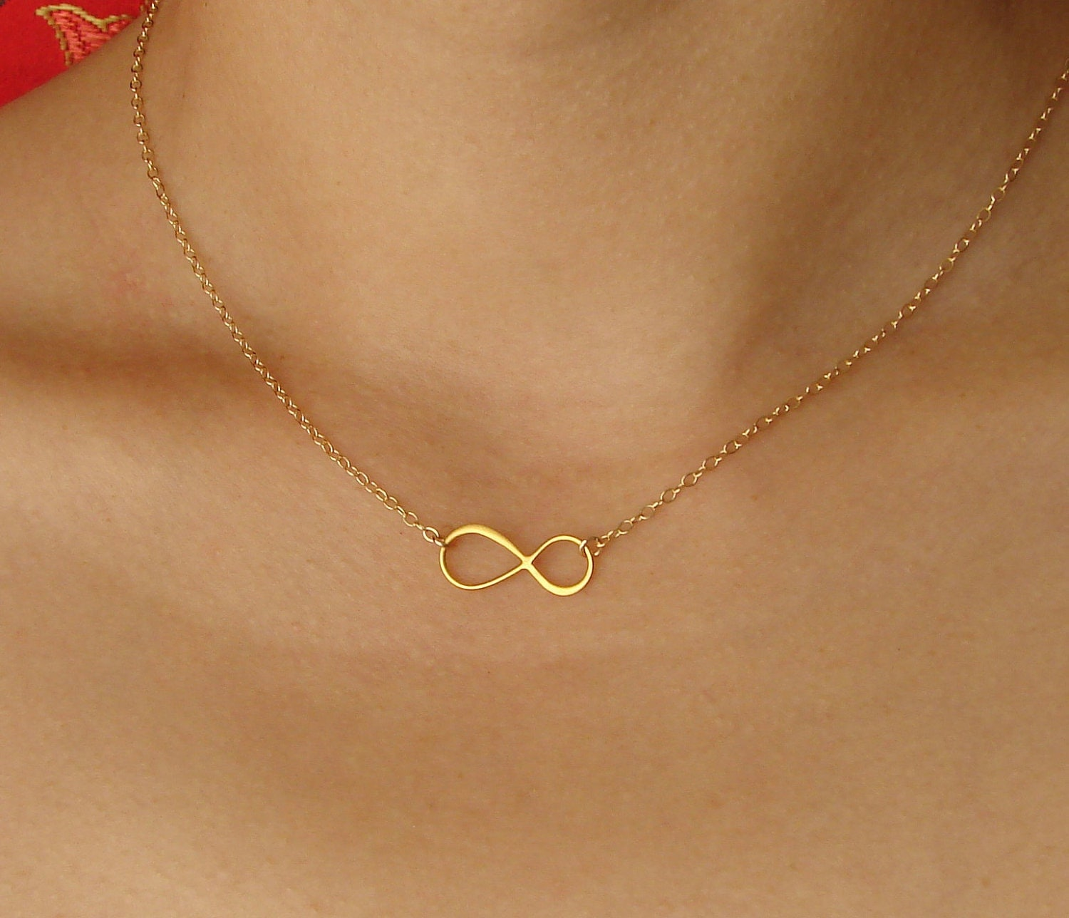 infinity necklace gold infinity necklace jewelry by