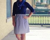 Sailor Vintage Inspired High Waist Elastic Skirt