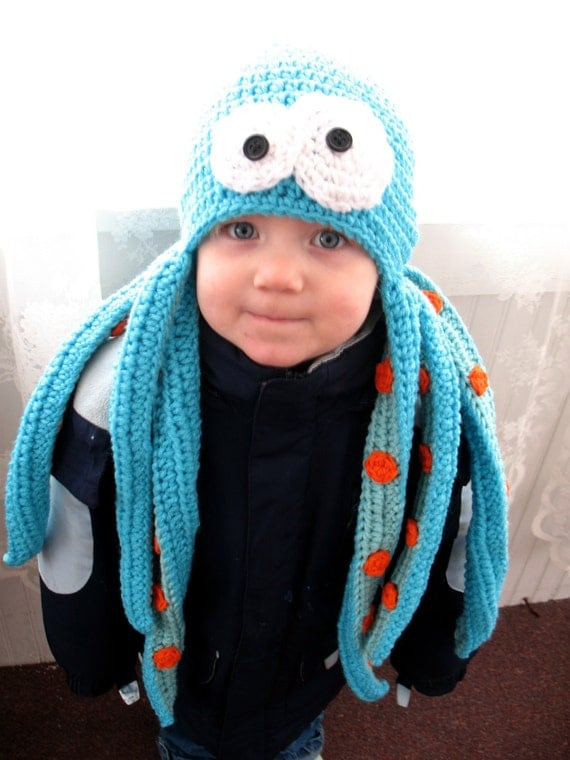 Ozzie the Octopus Beanie