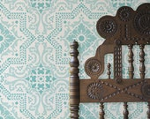 Wall Pattern Stencil Lisboa Tile Allover Stencil for Wall Decor and More
