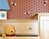 Wall Stencil Beehive Allover Stencil for Elegant DIY Wall Decor