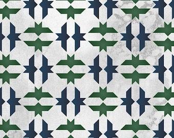 Moroccan Bird Tile Stencil for Wall Decor and More
