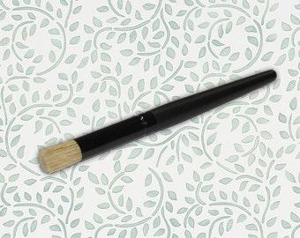 Small Stencil Brush for Wall Furniture Craft Stenciling and Pro Stencil Techniques
